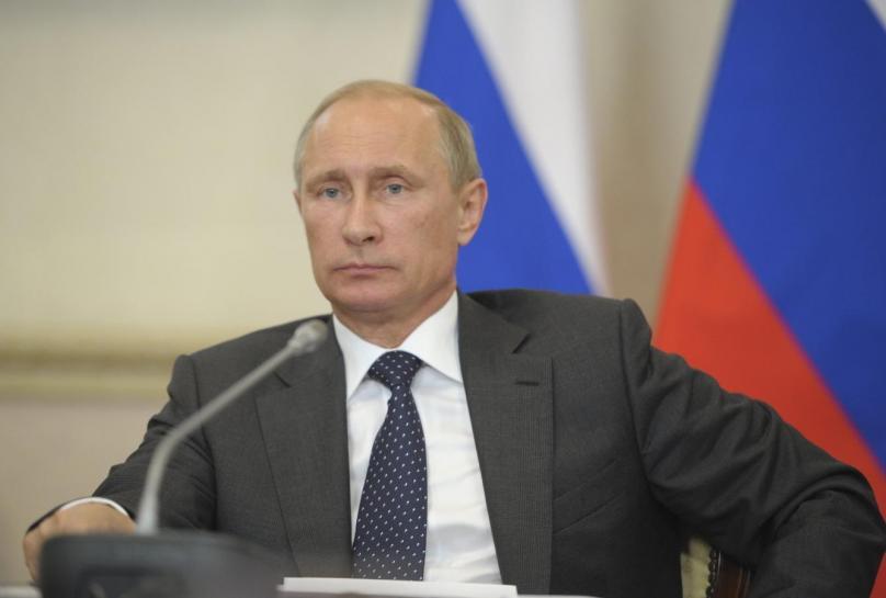 Russia's President Vladimir Putin chairs a session of the State Council Presidium in Voronezh, August 5, 2014. REUTERS/Alexei Druzhinin/RIA Novosti/Kremlin