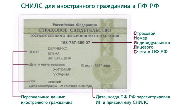 СНИЛС для иностранных граждан , содействие миграции, помощь беженцам из Украины